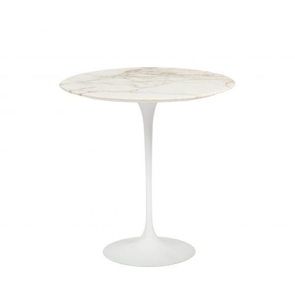 COFFE SMALL TABLE GOLD  CALACATTA MARBLE TOP