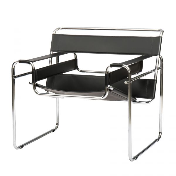 ARMCHAIR WASSILY BREUER COL. BLACK