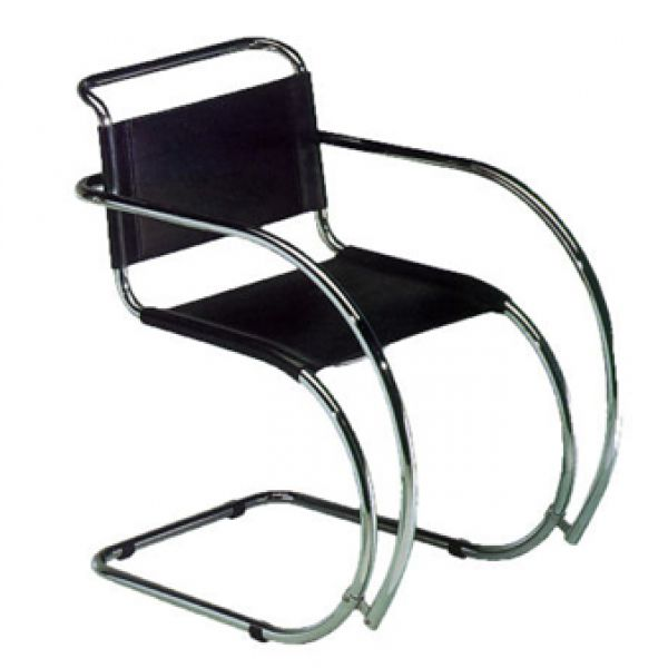 L.M. VAN DER ROHE CHAIR MR BR