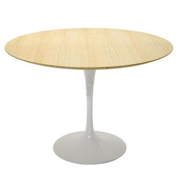 E. SAARINEN OVAL OR ROUND TULIP TABLE WOODEN TOP VARIOUS TYPES