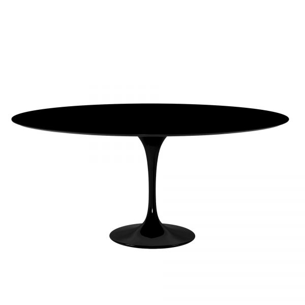 OVAL TABLE OR ROUND TABLE GRANITE BLACK ABSOLUTE ZIMBAWE
