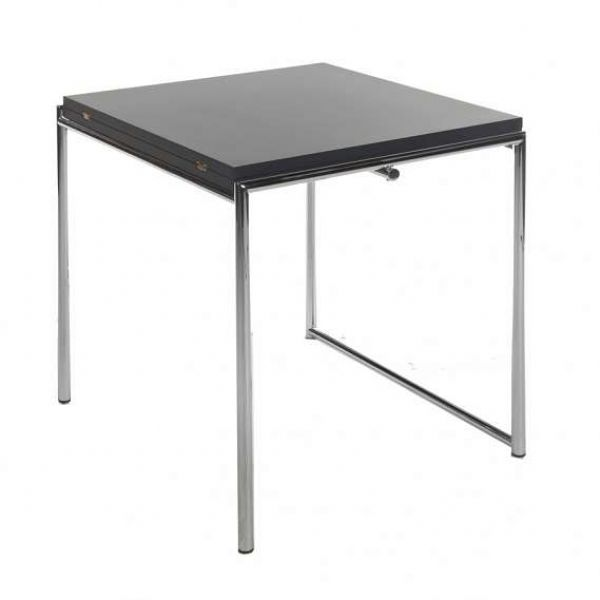 E. GRAY TABLE EXTENDABLE